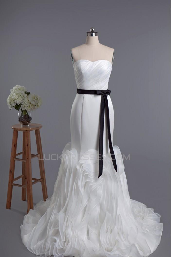 Trumpet/Mermaid Sweetheart Bridal Wedding Dresses WD010426