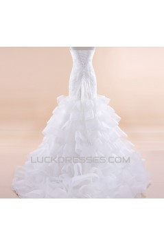 Trumpet/Mermaid Sweetheart Lace Bridal Wedding Dresses WD010502