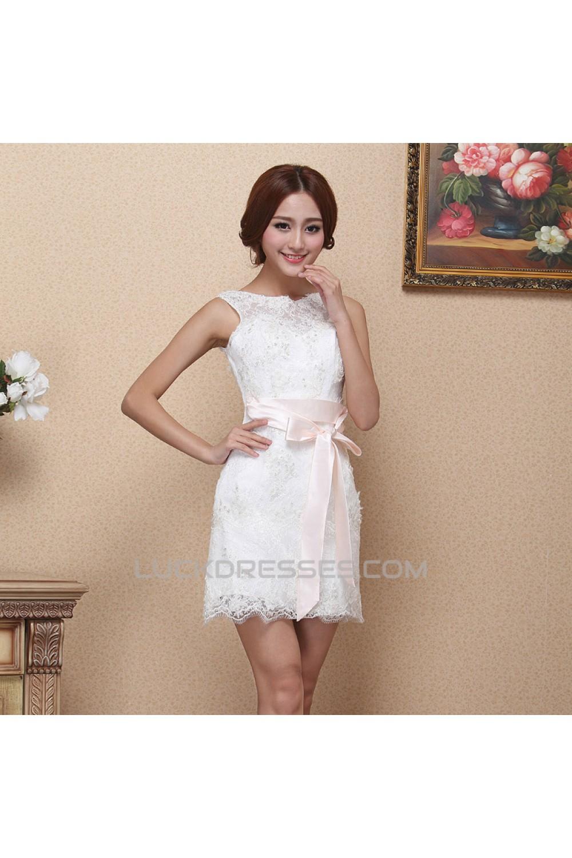 Shortmini Lace Bridal Wedding Dresses Wd010512