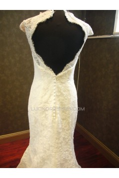 Trumpet/Mermaid Lace Bridal Wedding Dresses WD010539