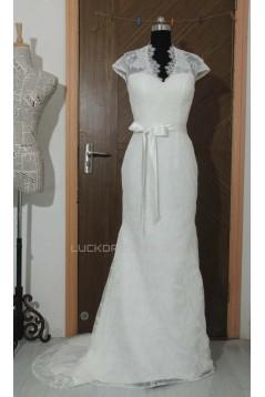 Trumpet/Mermaid Lace Bridal Wedding Dresses WD010570