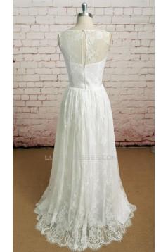 A-line Lace Bridal Wedding Dresses WD010647