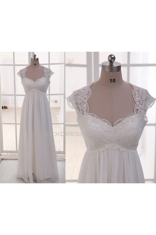 Lace and chiffon maternity bridal gown wedding dress wd010789 empire lace and chiffon maternity bridal gown wedding dress wd010789 ombrellifo Image collections