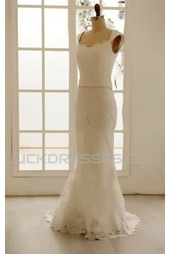 Trumpet/Mermaid Lace Bridal Gown Wedding Dress WD010796