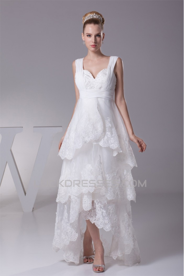A line high low sweetheart lace sweet wedding dresses 2030336 for High low sweetheart wedding dress