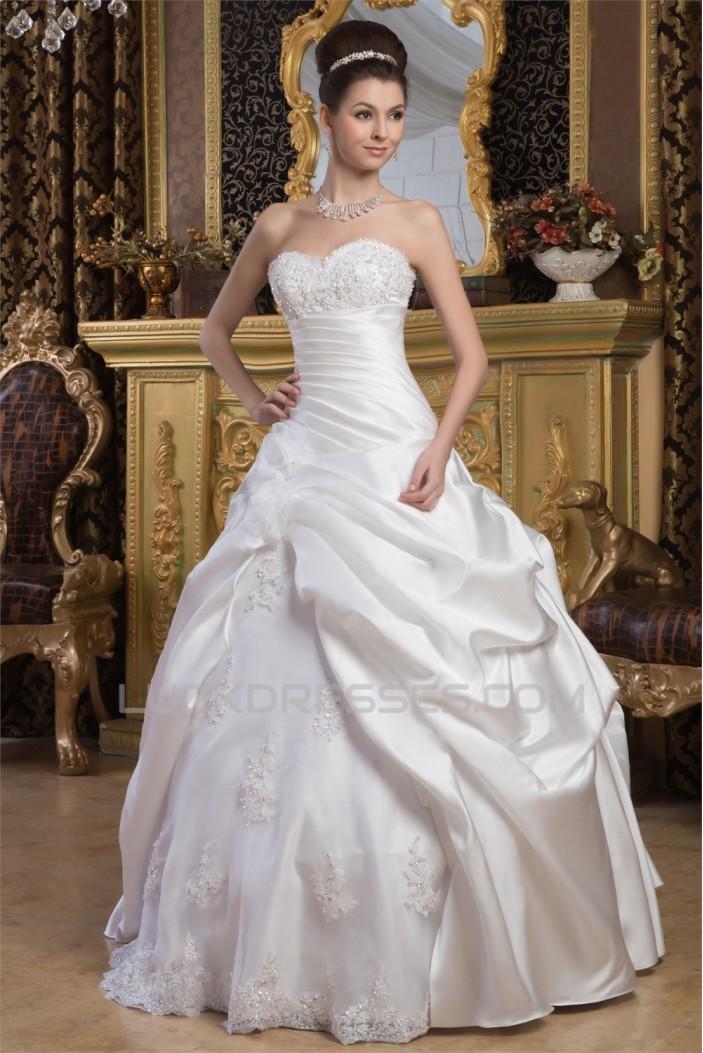 Latest Design Ball Gown Sweetheart Sleeveless Floor-Length Wedding ...