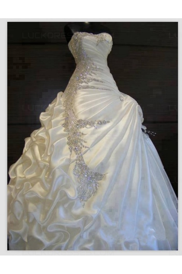 Sparkly bridal ball gown crystal wedding dresses bridal for Sparkly wedding dresses with sleeves